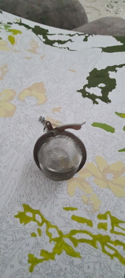 Stainless Steel Seasoning Ball Strainer Mesh photo review