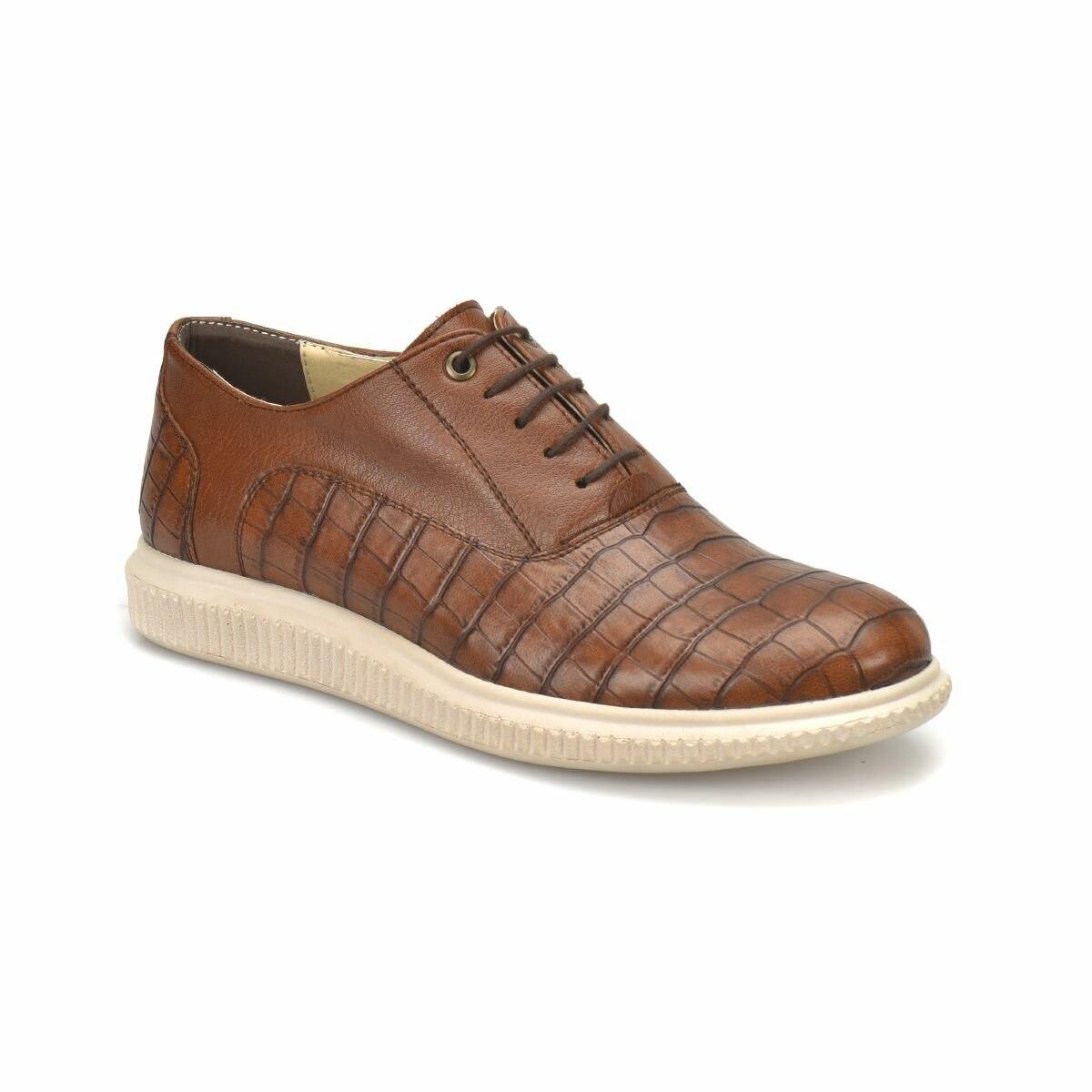 FLO 85129-1 Tan Men 'S Classic Shoes JJ-Stiller