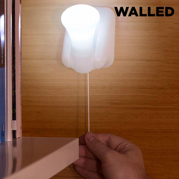 Walled LB15 Portable LED Light with Cord (pack of 3) - title=