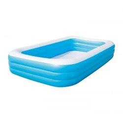 Надувной бассейн прямоугольник 305 х 183 х 56 см.