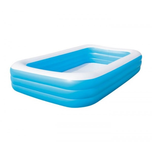 Inflatable Pool Rectangle 305x183x56 Cm.