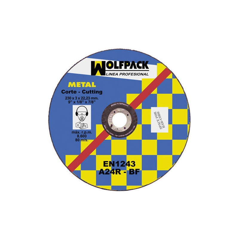 Cutting Disc Abrasive Metal 300x3,0x30mm.