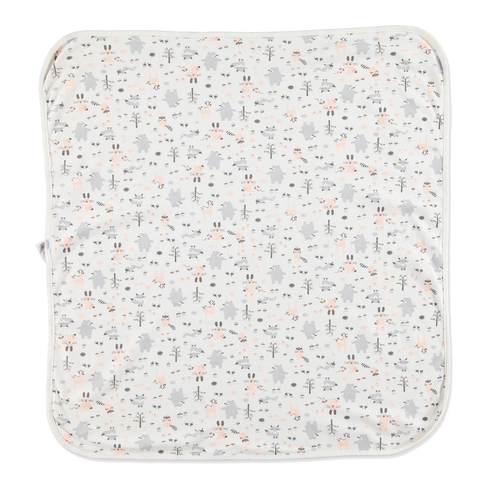 Ebebek Little Dreams Forest Patterned Multipurpose Baby Blanket