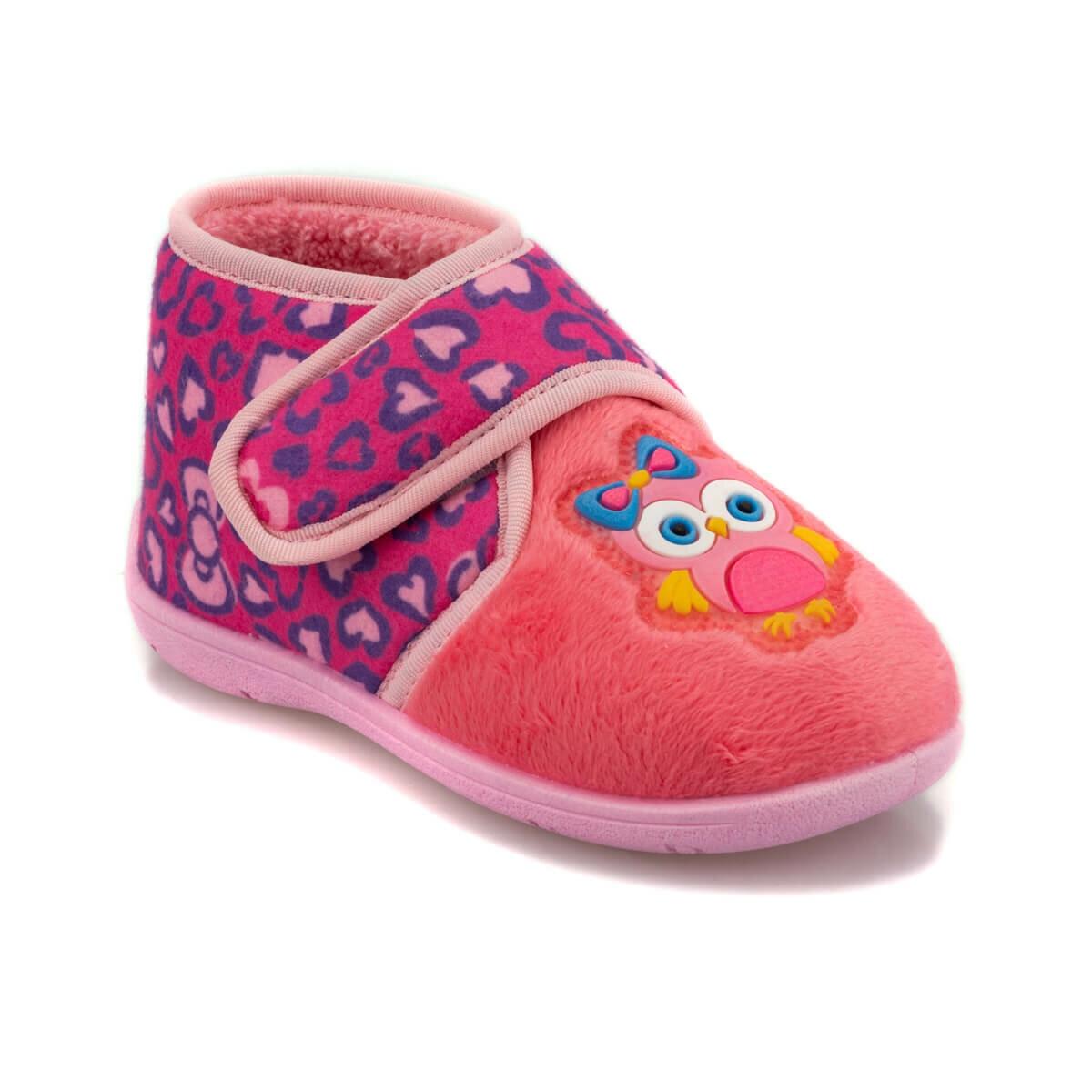 FLO 92. 510912.P Pink Female Child Panduf Polaris Slippers     - title=