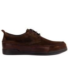 Sail Lakers zapatos de diario informales de cuero genuino para hombre negro y marrón a estrenar