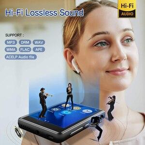 "Image 5 - MP3 נגן Bluetooth 2.8 ""מסך מגע מלא נייד 32GB Built בגדולה זיכרון HiFi מוסיקה נגן FM רדיו פדומטר וידאו Playe"