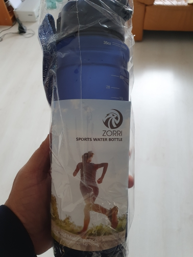 ZORRI Drak Blue Sports Water Bottle Best Reusable Protein Shaker Bpa Free Water Bottle Hiking Cycling Gym Bottle botella de agua|Water Bottles| |  - AliExpress