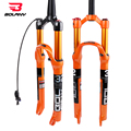 Вилка для горного велосипеда из магниевого сплава пневматическая подвеска 26 27 5 29er Inch 32 HL RL100mm Велосипедная вилка Блокировка для велосипедны...
