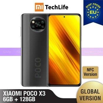 Перейти на Алиэкспресс и купить [Глобальная версия] POCO X3 6 ГБ Оперативная память 128 Гб Встроенная память (Фирменная Новинка/герметичные) NFC , pocox3, poco, 128, мобильный телефон