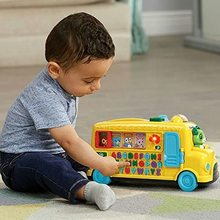 Bus letters and animals of CEFA TOYS, from 12 months, toy lights, sounds and music, letters, words, Alphabet, child
