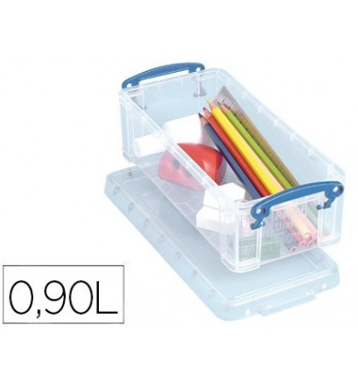 ORGANIZER FILE 2000 PLASTIC TRANSPARENT WITH TAPA0, 9 LITERS 70X100X220 MM