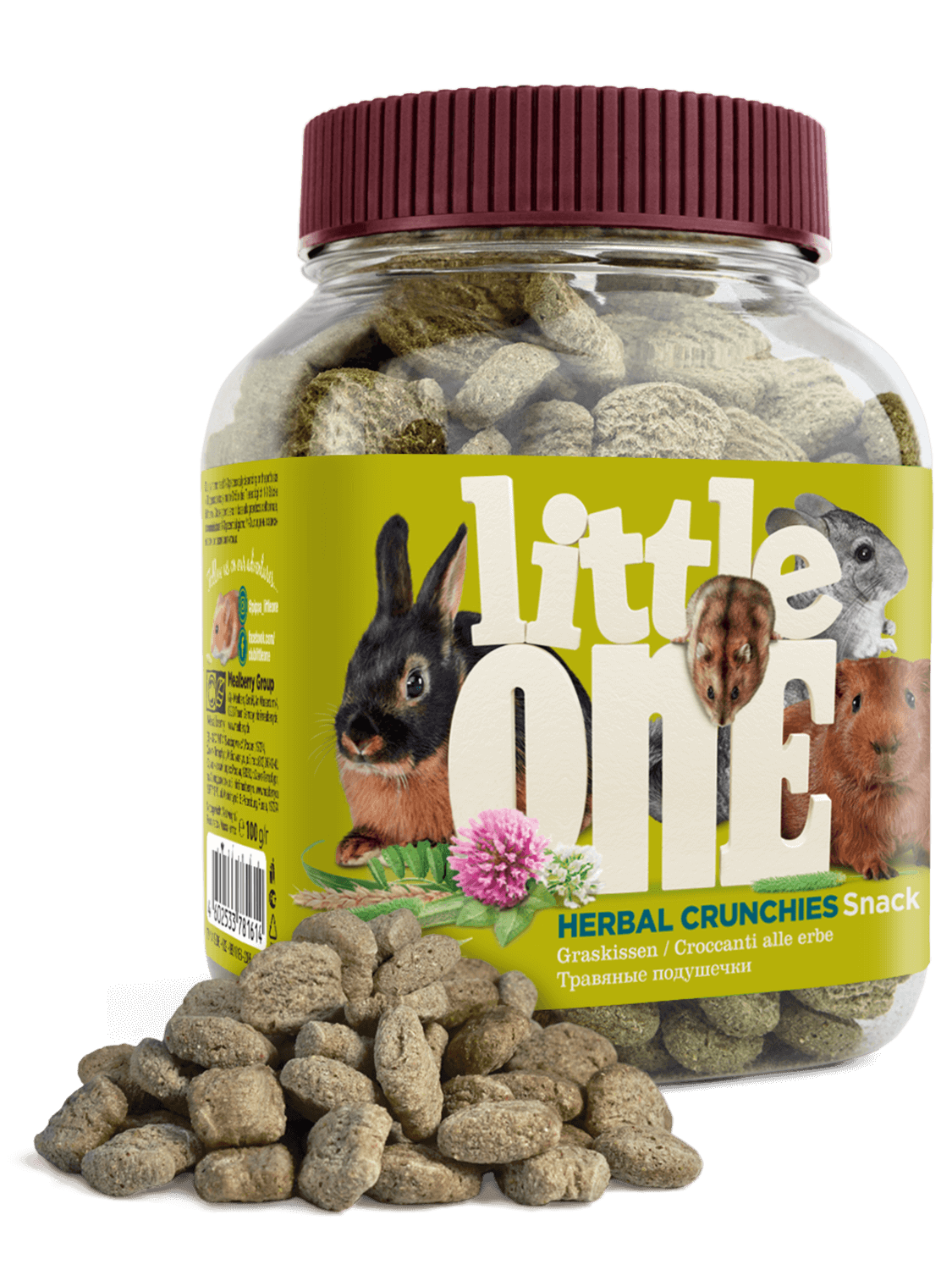 Little One Herbal Pads For Rodents (100g)