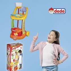 Opa Speelgoed Schoonmaken Trolley, Geschikt Voor Kinderen 3 Jaar En Over, 9 Stuks, kleurrijke En Educatief Speelgoed Voor Kinderen