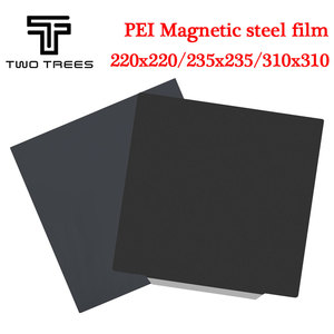 Пружина стальной лист предварительно приложенный PEI гибкий магнитный горячий стикер для CR10 Ender 3 Горячая кровать сапфир 220x22 0/235x23 5/310x310 мм ...