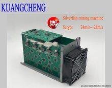 SilverFish – mineur Litecoin 25 m/s, 420 watts, meilleur que le mineur ASIC Zeus Antminer L3 +, en stock