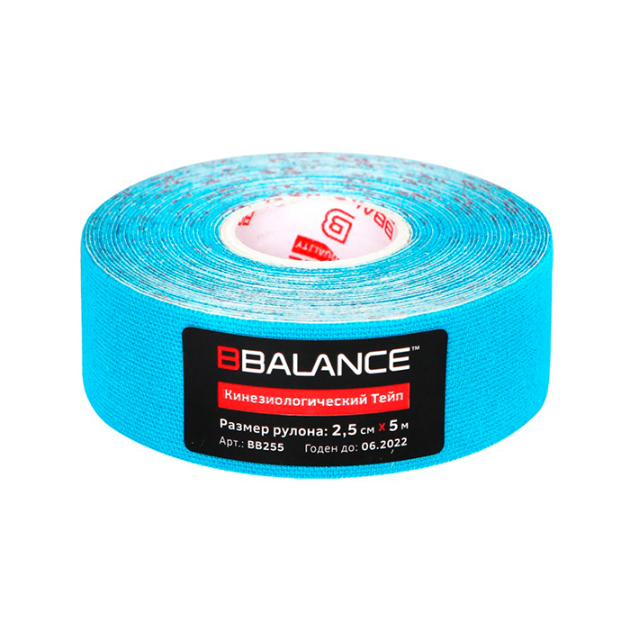 Kinesio Teip Bbalance (2,5 Cm * 5 M) Blue
