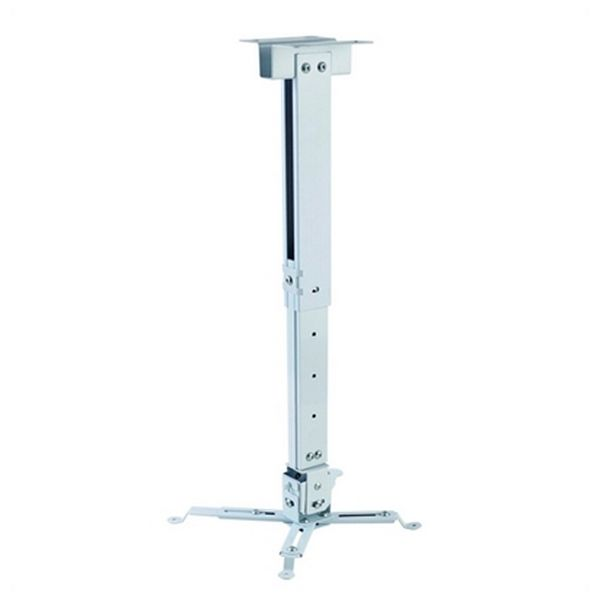 Tilt And Swivel Ceiling Mount For Projectors Iggual STP02-L IGG314593 -22,5 - 22,5° -15 - 15° Aluminium White