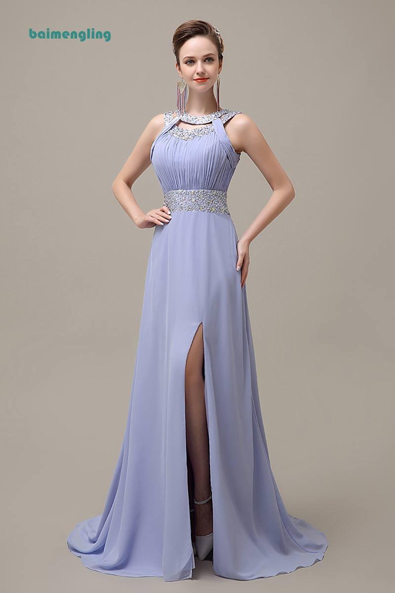 Long   bridesmaid     dress  , modest   bridesmaid     dress  ,chiffon   bridesmaid     dress  ,Blue   bridesmaid     dress