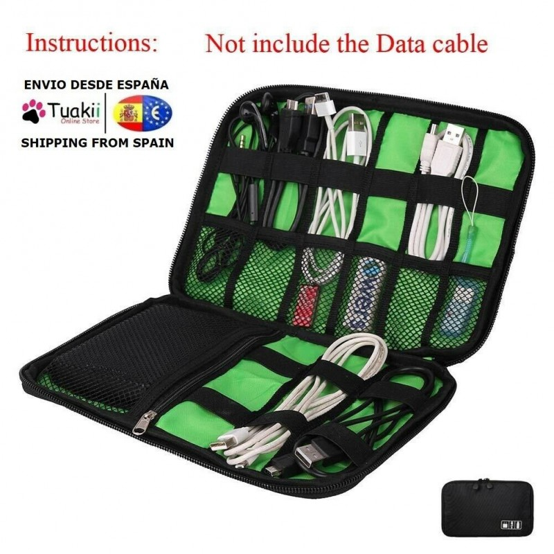 Bag Universal Organizer USB Wires Electric Mobile Phone Accessories