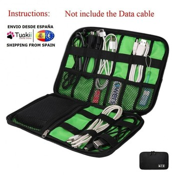 Universal bag organizer Electric USB Cables mobile phone accessories