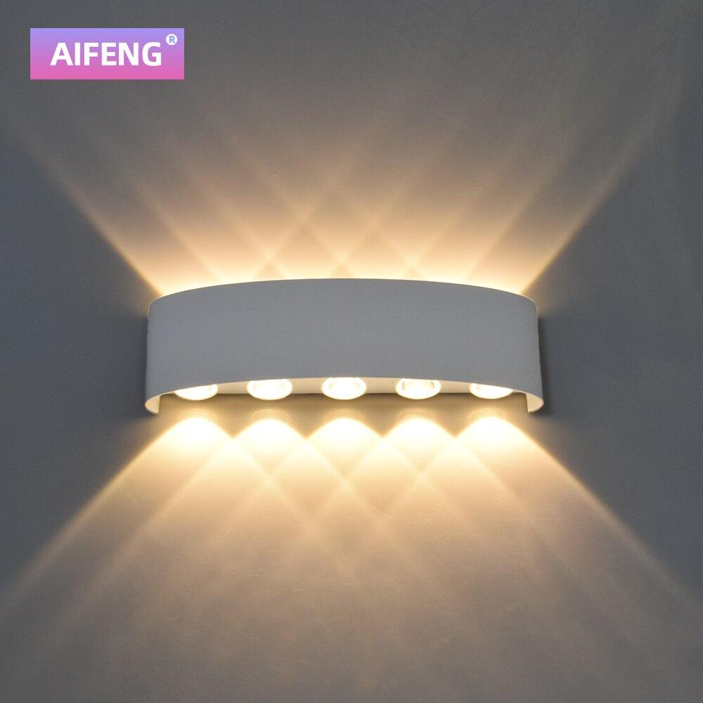 luminaria de parede led aluminio para 04