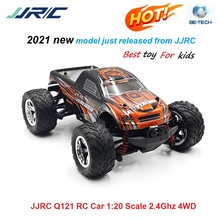 JJRC Q121 RC Car 1:20 Scale 2.4Ghz 4WD Supersonic Explorer Remote Control Car Off Road Vehicle 20km/h Gift for Kids Adults RTR