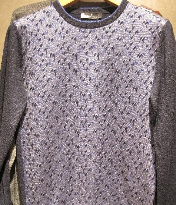 Sweater Polo Collar Button Male Sweater Sweater 3815-1