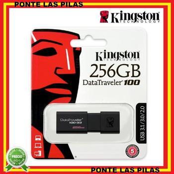 Kingston 256GB USB Pendrive 3.0 DataTraveler 100 G3 - Original memory USB Flash Drive
