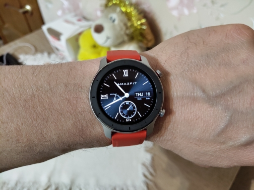 In Stock Global Version New Amazfit GTR 42mm Smart Watch 5ATM Smartwatch 12Days Battery Music Control For Xiaomi Android IOS|Smart Watches| |  - AliExpress