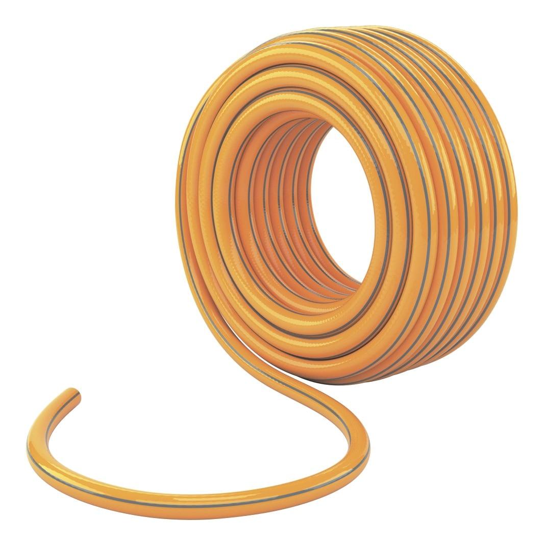 Reinforced hose PALISAD 67658 (50 m length, diameter 19mm/3/4 inch, PVC) hose gardena feeder 4 6 mm 3 16 inch home