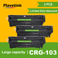 Plavetink 3 шт. CRG103 для Canon CRG 103 совместимый тонер-картридж для Canon LBP 2900 3000 факс L100 110 120 160 MF4150 4120 4680