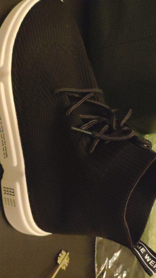 Sap. Vulcaniz. Fem. sapatos estiramento elastic