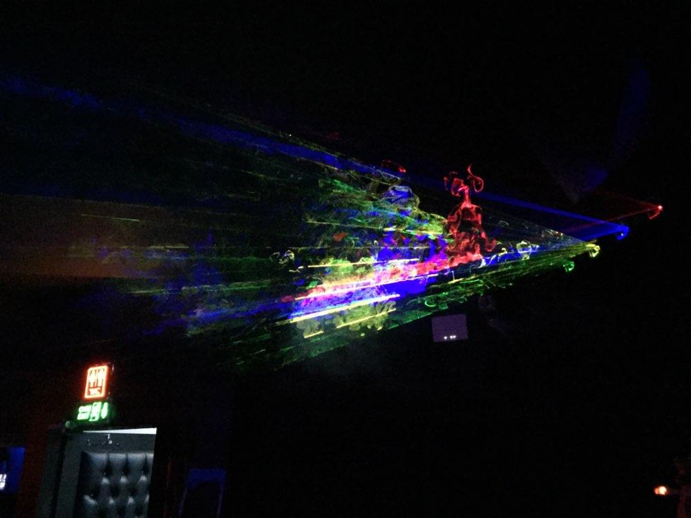 Efeito de Iluminação de palco Projeto Projeto Metros