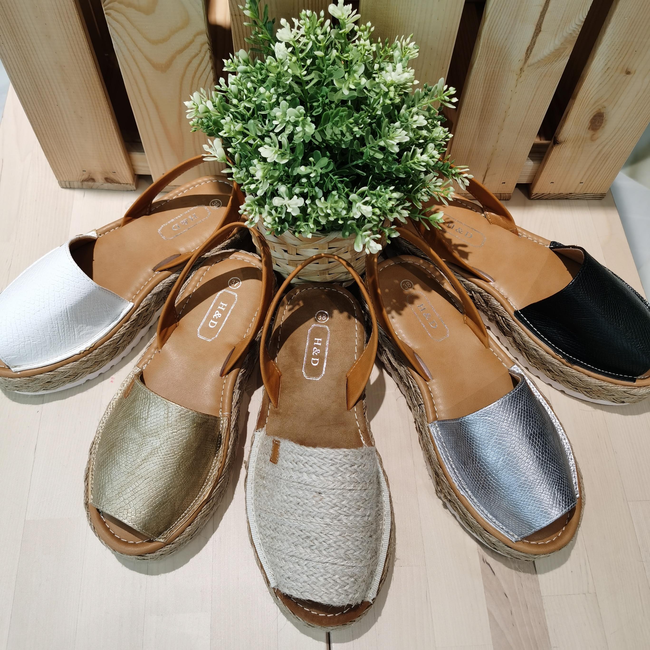Shoe Menorquina 2020 Summer Woman Platform