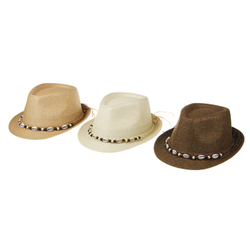 HAT YOUTH BEAUTIFUL CELLULOSE NATURAL MATERIAL FASHION SPRING-SUMMER