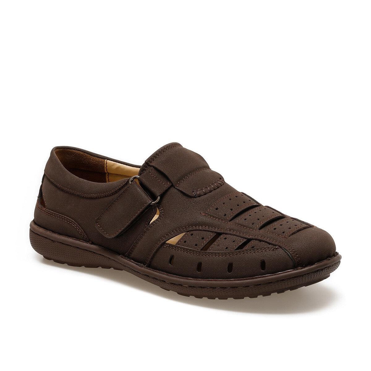 FLO AL-9 Brown Men 'S Classic Shoes Flexall