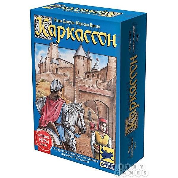 Jeu Carcassonne, monde de passe-temps