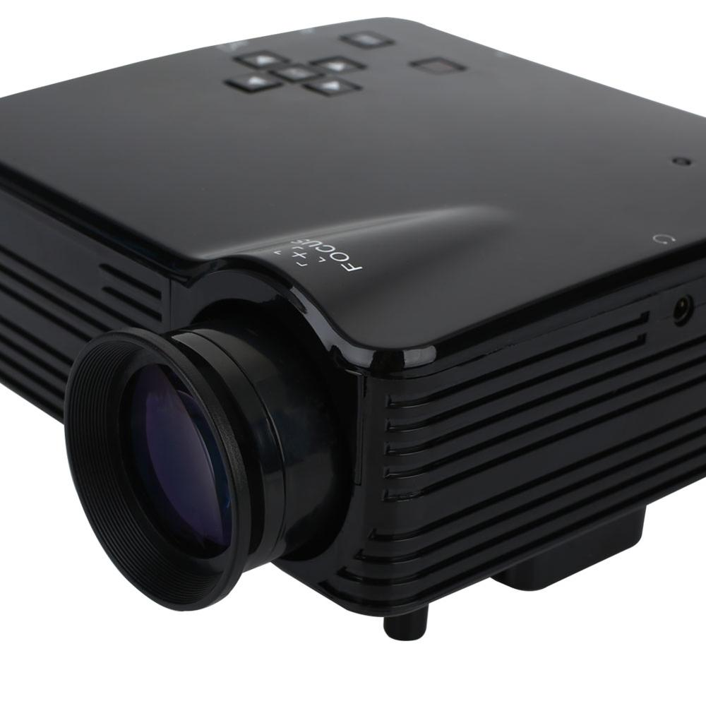 NEW Arrival Mini Projector Portable LED Projector Home Theatre Full HD Projector With Remote-Control Support 1920X1080 USB/AV/VG