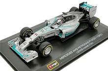 Bburago 1:32 2014 Mercedes Benz Amg Petronas F1 W05 #44 Lewis Hamilton Diecast Auto Model Nieuw In Doos
