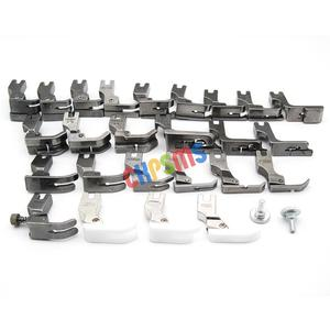 Image 3 - 25PCS PRESSER FEET SET FIT FOR JUKI BROTHER SINGER CONSEW HIGH SHANK SEWING MACHINE #KP PF25