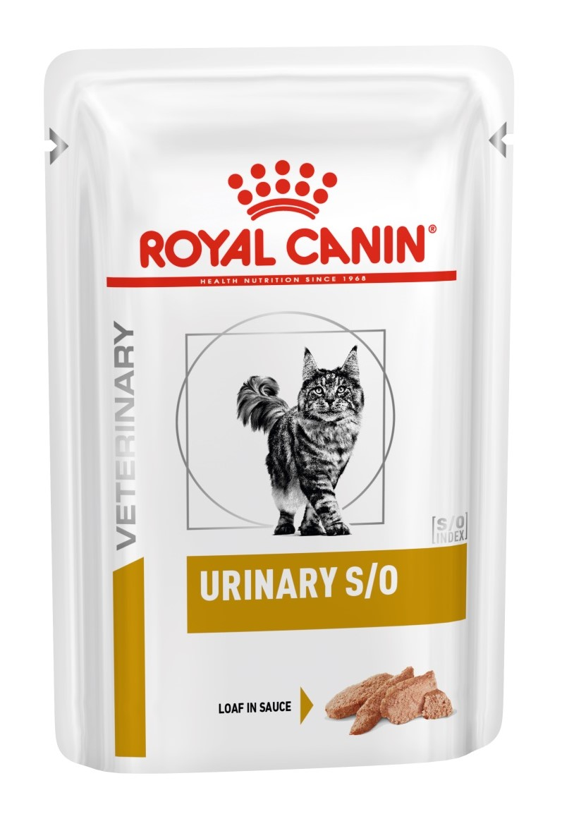 Royal Canin S/O Urinary Spider For The Treatment Of IBC (paste), Cat Food, For Cats, 12*0,085 Kg