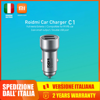Xiaomi Roidmi Car 2 USB fast charger 3.6A  Fast Car Charger Android iOS Apple|Cables  Adapters & Sockets|   -