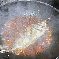 香辣臭鳜鱼,一道需要戴口罩做的菜的做法图解9