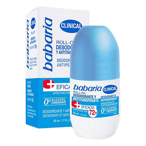 Roll-On Deodorant Clinical Babaria (50 Ml)