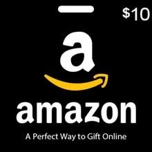 A AMAZON gift wallet American 10 USD
