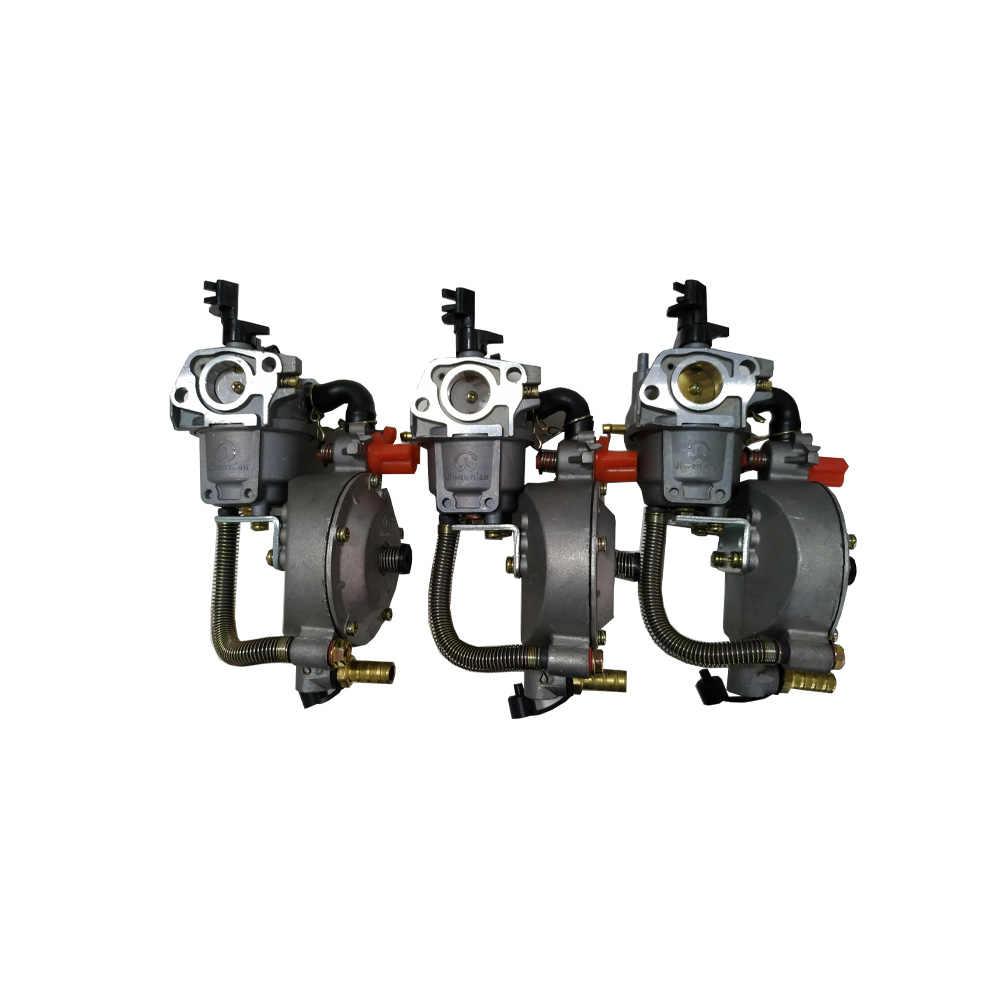 مصنع صيني جودة مولد الغاز المسال محرك البنزين مضخة المياه الغاز الطبيعي متعدد الوقود تعديل المكربن