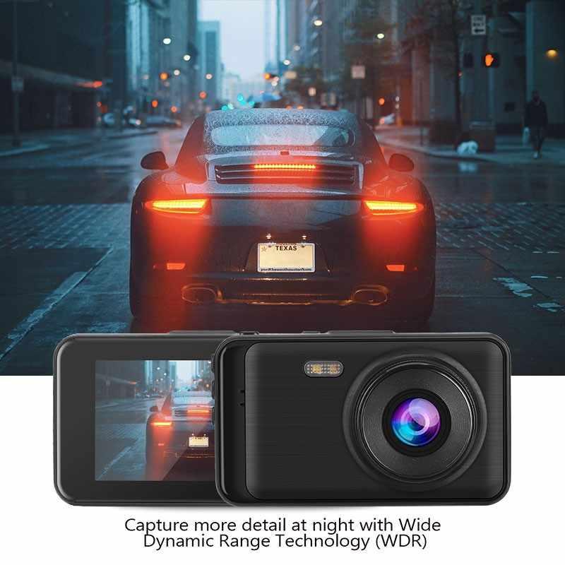 نسخة مطورة سيارة داشكام 1080P سوبر HD كاميرا سباق بالرؤية الليلية 3 بوصة G-الاستشعار سيارة كاميرا DVR مسجل 170 درجة المسجل