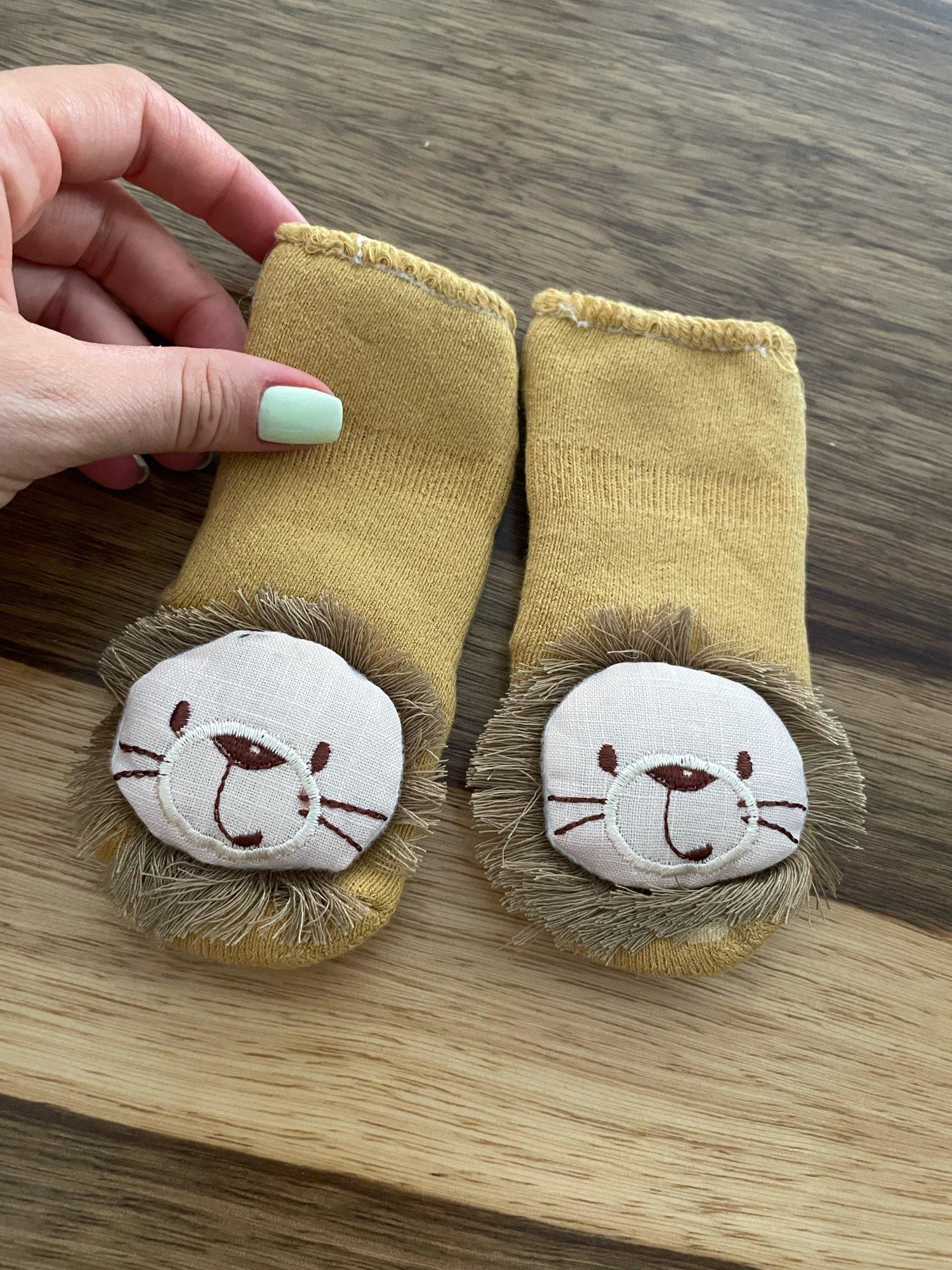 Autumn Winter Baby Girls Socks Newborn Cartoon Animal Baby Socks Infant Baby Boy Socks Anti Slip Soft Cotton Floor Sock Shoes photo review