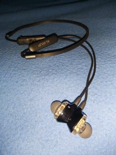 ALWUP G01 Bluetooth Earphone Wireless Headphones Four Unit Drive Double Dynamic Hybrid Deep Bass Earphone for Phone with mic 5.0|Bluetooth Earphones & Headphones|   - AliExpress