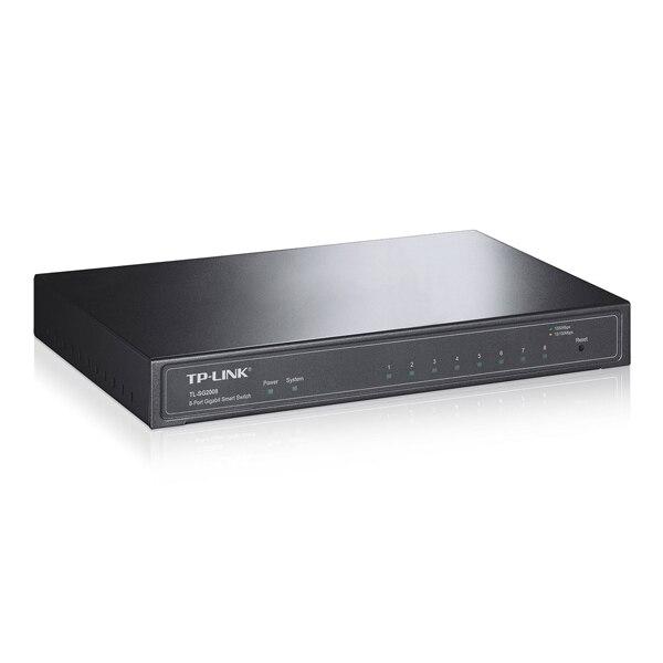 Desktop Switch TP-LINK Smart TL-SG2008 8P Gigabit VLAN